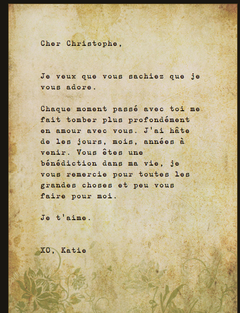 How to write a love letter in french images letter format formal how to write a love letter in french choice image letter format how to write a spiritdancerdesigns Images